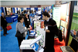 Conference goers learn about products and services in the Exhibit Hall
