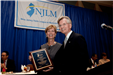 Former Gov. Christine Todd Whitman accepts Distinguished Public Service Award from President Tim McDonough