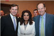 Sen. Tom Kean, Jr., Dept. of Health & Sr. Services Comm. Poonam Alaigh, and former Gov. Tom Kean, Sr., at League Luncheon