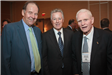 Former Governors Tom Kean, James Florio, and Brendan Byrne catch up at the League Luncheon