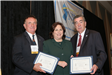 Mayor McCullough and Mayor Corby receive 2006 Innovation in Governance Awards from DCA Commissioner