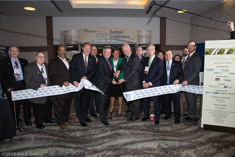 Ribbon Cutting at 100th Annual Conference
