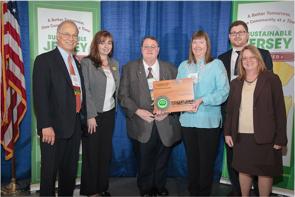 Buena Vista Township was one of over a dozen municipalities that were recognized by Sustainable Jersey in 2010