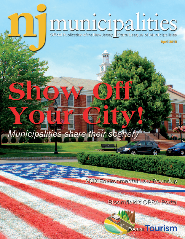 April 2018 NJ Municipalities magazine cover