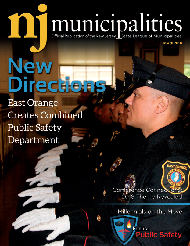 March 2018 NJ Municipalities magazine cover