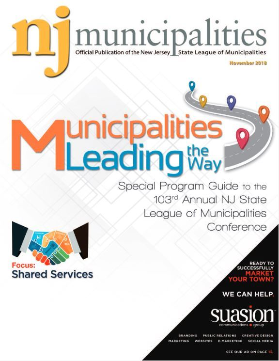 November 2018 NJ Municipalities magazine cover