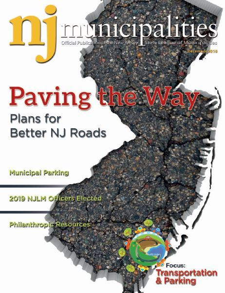 December 2018 NJ Municipalities magazine cover