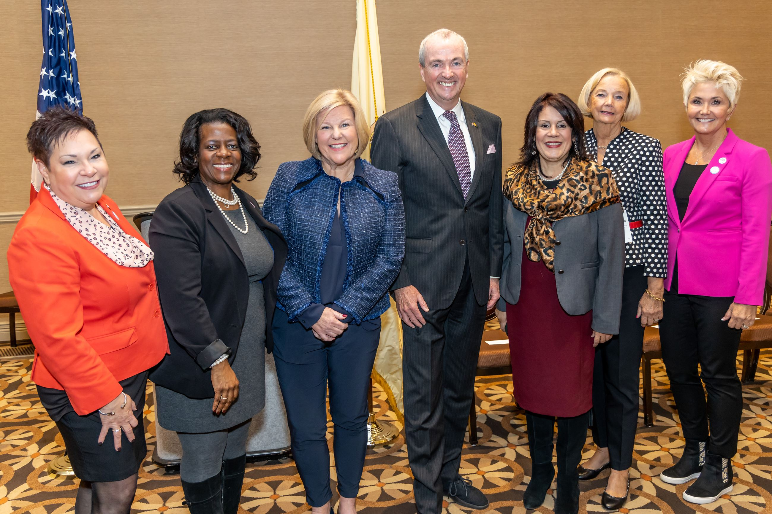 WIMG Awardees and Committee members with Gov. Murphy