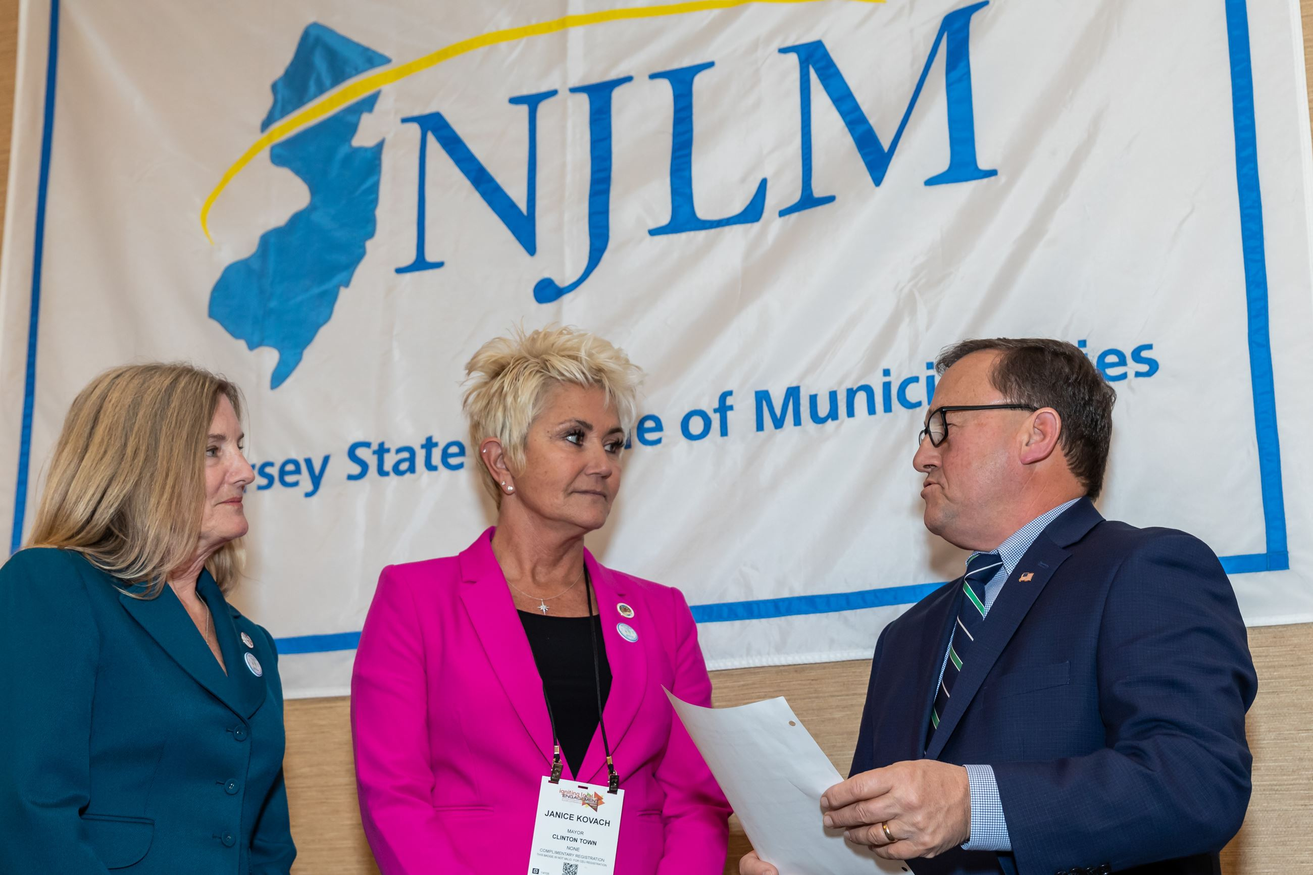 Howard and Kovach sworn in as NJLM officers